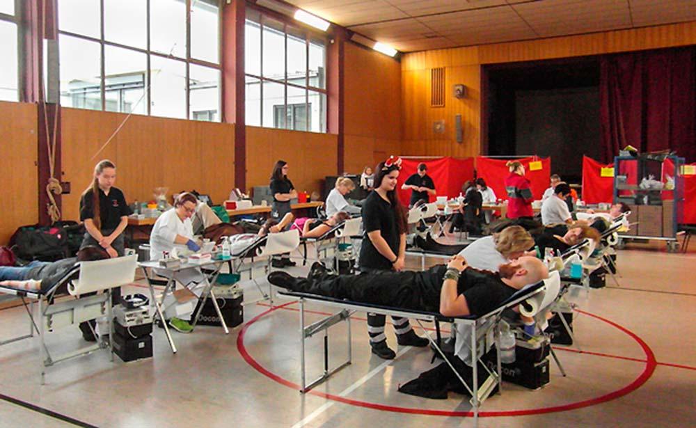 Blutspendeaktion 2017